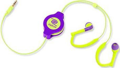 RETRAK audio NEON Sport zeleno-fialová