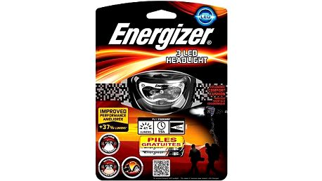 Energizer Headlight 3LED/ 41 lumenů 3AAA