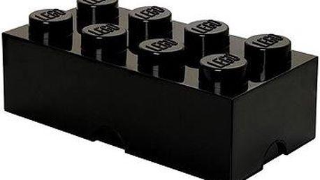 LEGO Úložný box 8 250 x 500 x 180 mm - černá