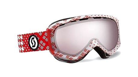 Scott Reply pattern red silver chr