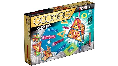 Geomag - Glitter 68 dílků