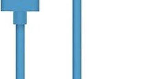 Belkin MIXIT 90° Lightning 1.2m modrý