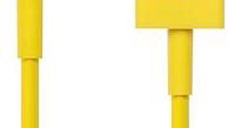 CONNECT IT Colorz Lightning Apple 1m žlutý