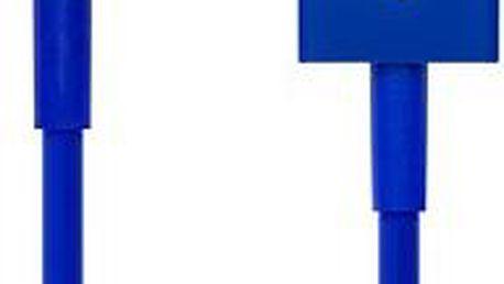 CONNECT IT Colorz Lightning Apple 1m modrý