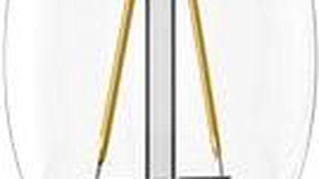 TESLA CRYSTAL LED RETRO svíčka E14, 2,2W 1ks