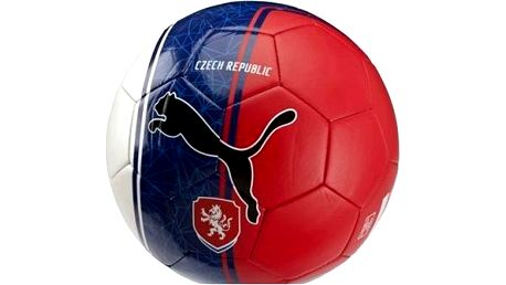 Puma Czech Republic Country Fan Balls Licensed white/blue/red 5