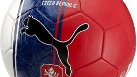 Puma Czech Republic Country Fan Balls Licensed white/blue/red 5