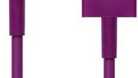 CONNECT IT Colorz Lightning Apple 1m fialový