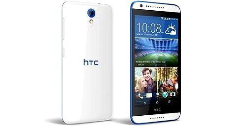 HTC Desire 620G (A31MG) Gloss White / Blue Trim Dual SIM