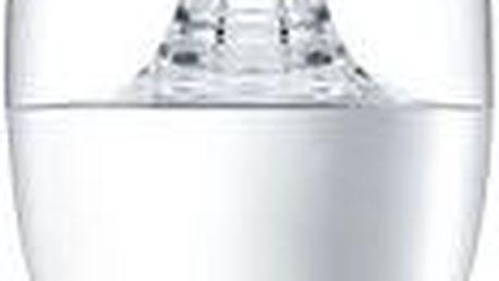 Philips LED Svíčka 5,5-40W, E14, 2700K, Čirá
