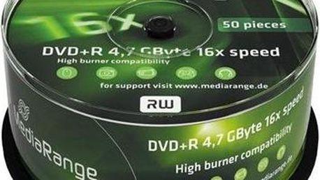 MediaRange DVD+R 50ks cakebox