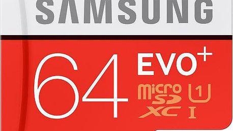 Samsung Micro SDXC EVO+ 64GB Class 10 UHS-I - MB-MC64DA/EU
