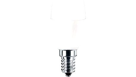 Pila LED svíčka, 5.5-40W, E14, 2700K, Mléčná