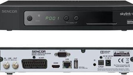 SENCOR SDB 6010SI DVB-S2 IRDETO USB PVR; SDB 6010SI