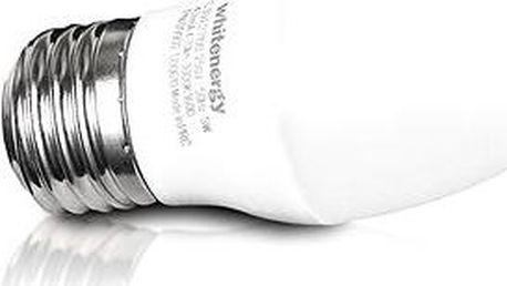 Whitenergy SMD2835 C30 E27 5W - bílá mléčná
