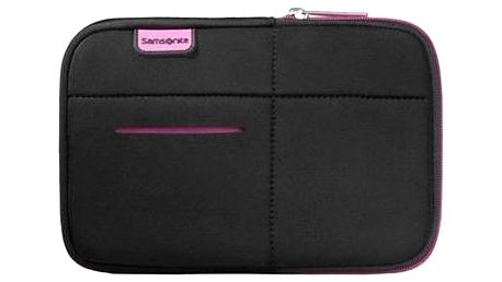 "Samsonite Airglow Sleeves Laptop Sleeve 7"" černo-růžové"