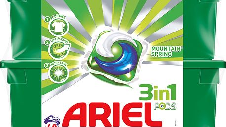 ARIEL Mountain Spring 3v1 Gelové Kapsle - 60 ks