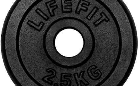 Kotouč Lifefit 2,5 kg / tyč 30 mm