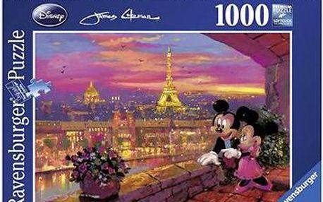 Disney - Západ slunce v Paříži