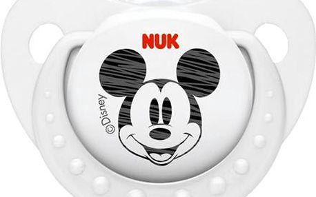 NUK Trendline Mickey 0-6m bílé