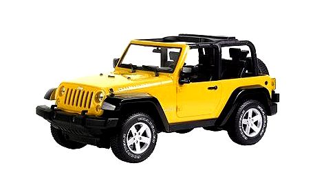 Auto Jeep RtG žluté