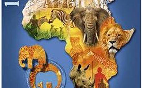 Tvarové Puzzle - Africký kontinent
