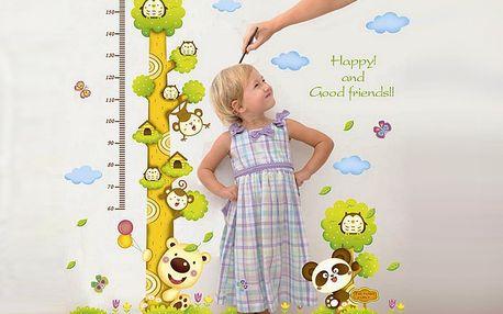 Opičky na stromě 70 x 50 cm