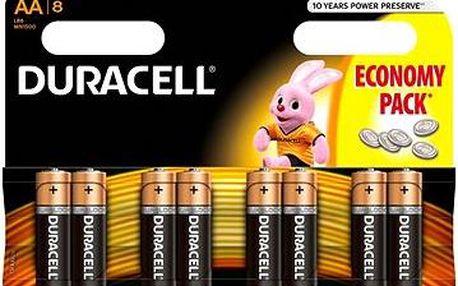 Duracell Basic AA 8 ks