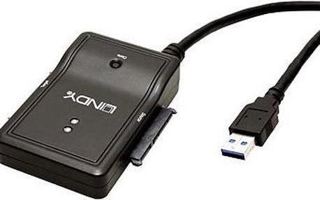 LINDY USB 3.0 -> 2x SATA 3.0 Gbit/s, duplikátor, 0.5m