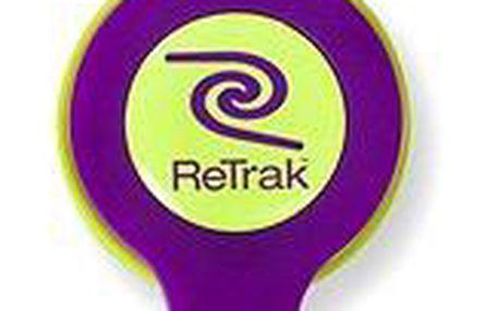 RETRAK audio NEON fialovo-žluté