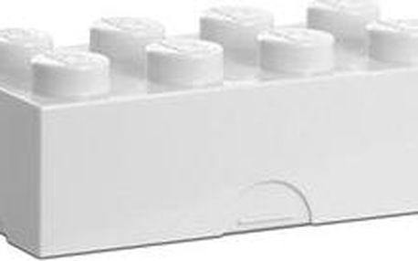 LEGO Box na svačinu 100 x 200 x 75 mm - bílý