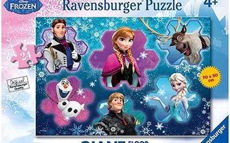 Ledové království - Podlahové puzzle