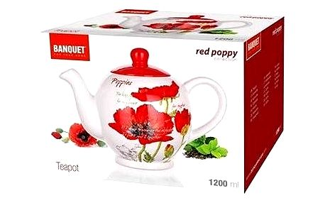 BANQUET RED POPPY A00839