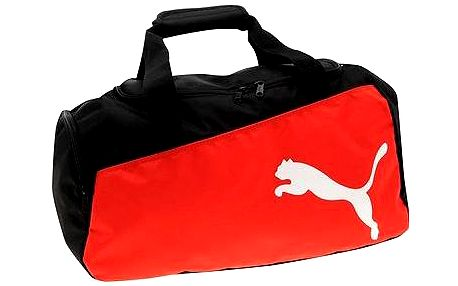 Puma Pro Training Medium Bag black-puma red-w
