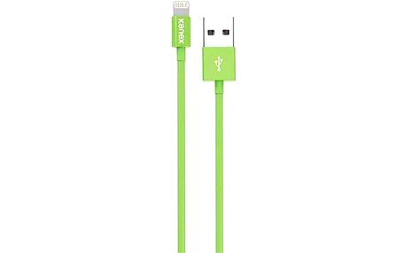 KANEX Lightning na USB MFI 1.2m zelený