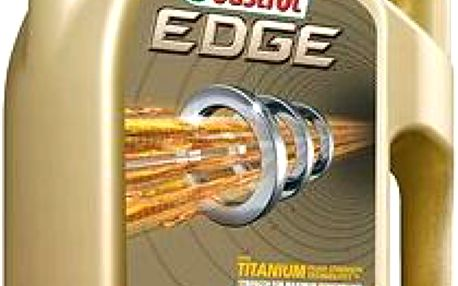 Castrol EDGE 5W-40 TITANIUM FST 5 lt