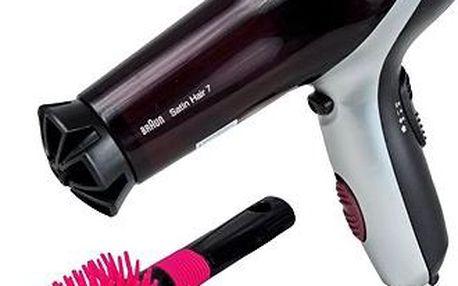 Fén na vlasy - Braun s doplňky