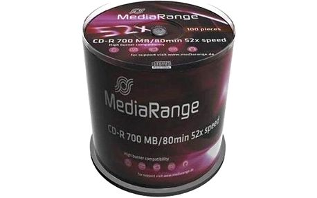 MediaRange CD-R 100ks cakebox