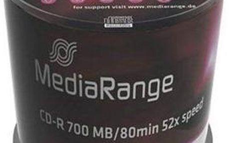 MediaRange CD-R 100ks cakebox