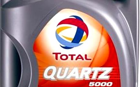 TOTAL QUARTZ 5000 15W40 - 5 litrů
