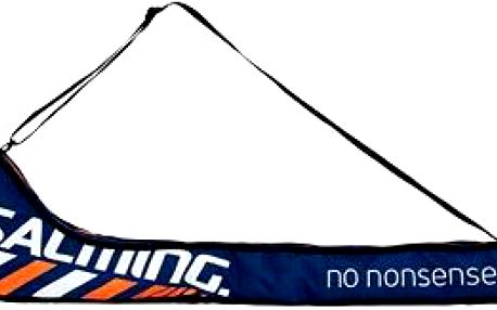 Salming Tour Stickbag Junior Navy Blue/Orange