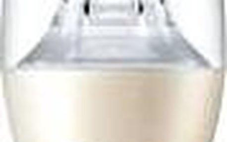 Philips LED Svíčka 6-40W, E14, 2200-2700K WarmGlow, Čirá, stmívatelná