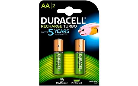 Duracell StayCharged AA - 2400 mAh 2 ks