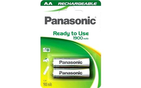 Panasonic Ready to Use AA HHR-3MVE/2BC 1900 mAh