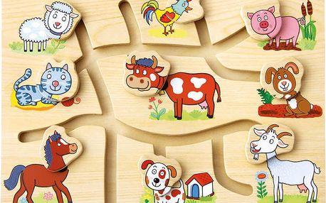 BINO Hra - Najdi správnou hlavičku