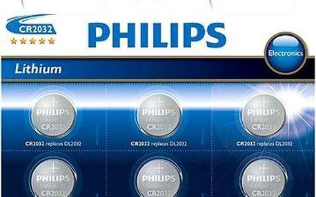 Philips CR2032P6 6ks v balení