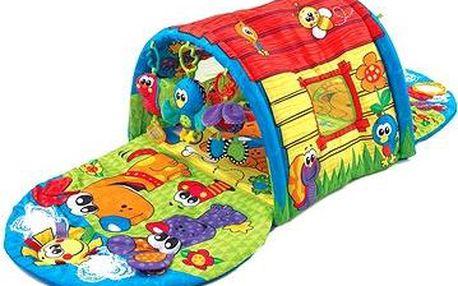 Hrací deka s tunelem - Štěňátko