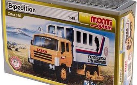 Monti system 12 - Expedice Tatra 815 měřítko 1:48