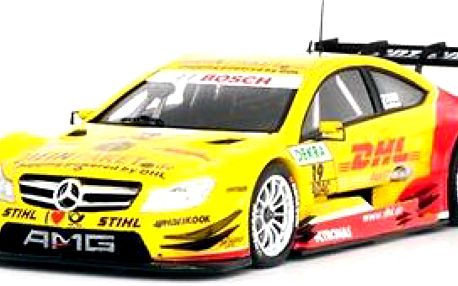 AMG Mercedes C-Coupe DTM D.Coulthard