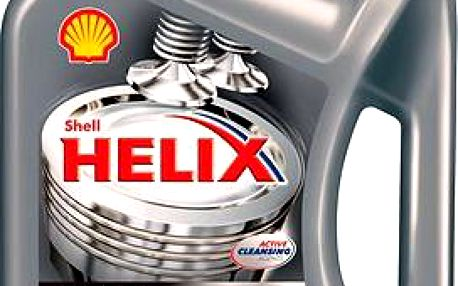 SHELL Helix HX8 Synthetic 5W-40 - 4 litry